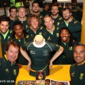 Team SA jersey donated to Springbok Experience Rugby Museum